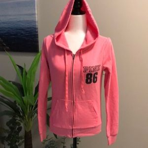 Victoria's Secret hooded sweater size XS